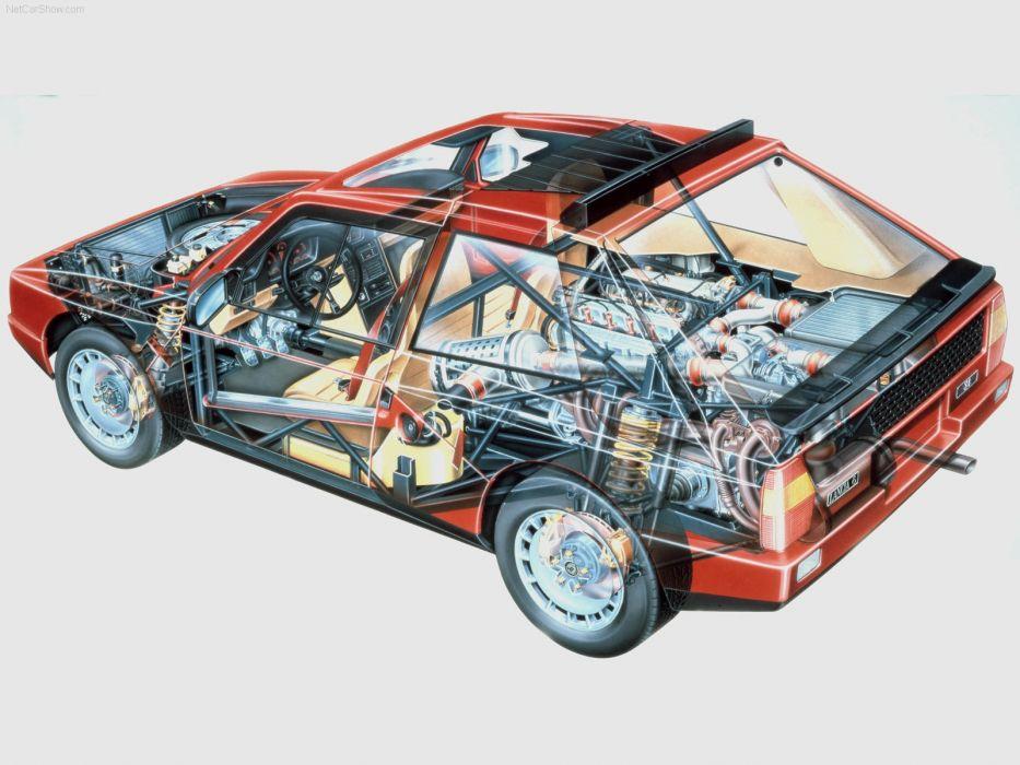 Lancia Delta S4 Cutaway wallpaper