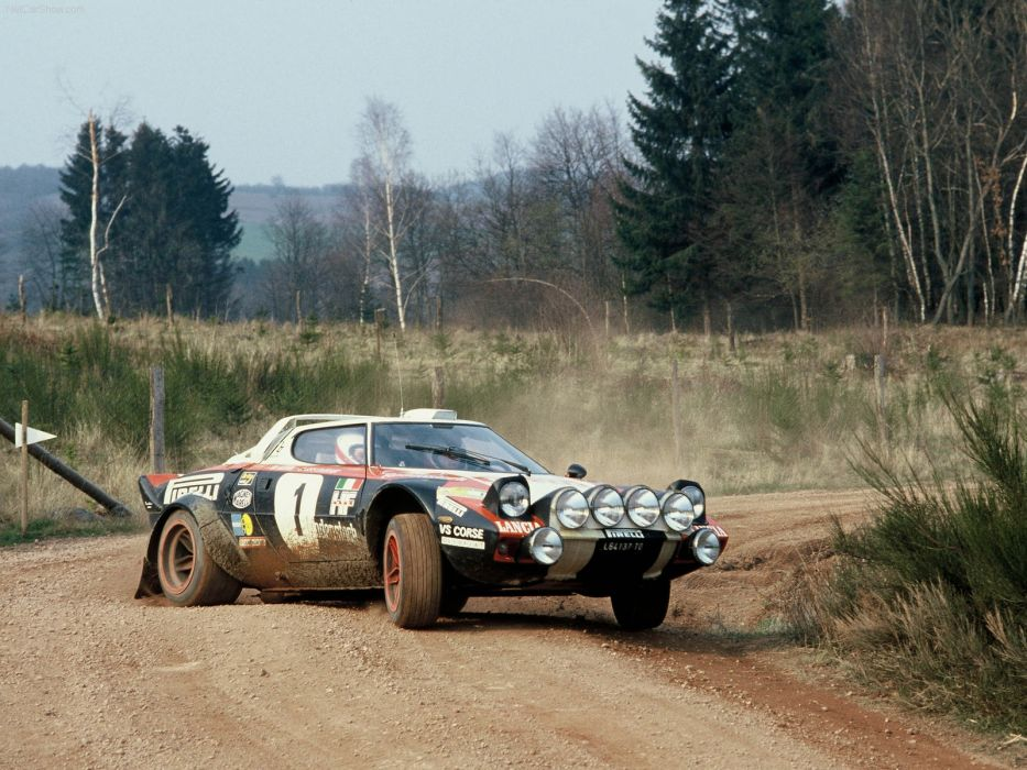 Lancia Stratos Classic Rally wallpaper
