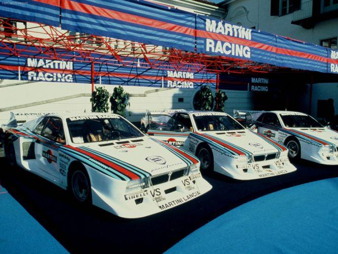 Lancia Montecarlo Turbo Classic Race Car wallpaper