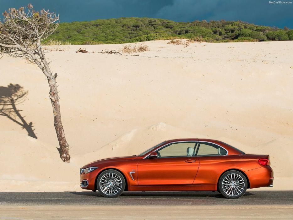 BMW 4-Series 430i Convertible cars 2017 wallpaper