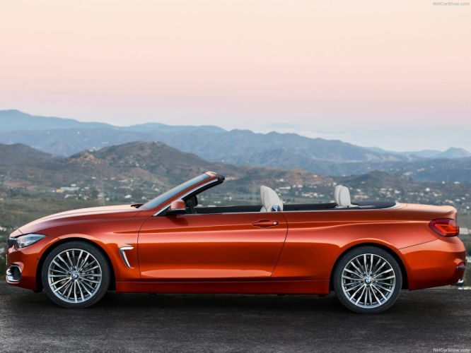 BMW 4-Series 430i Convertible cars 2017 wallpaper