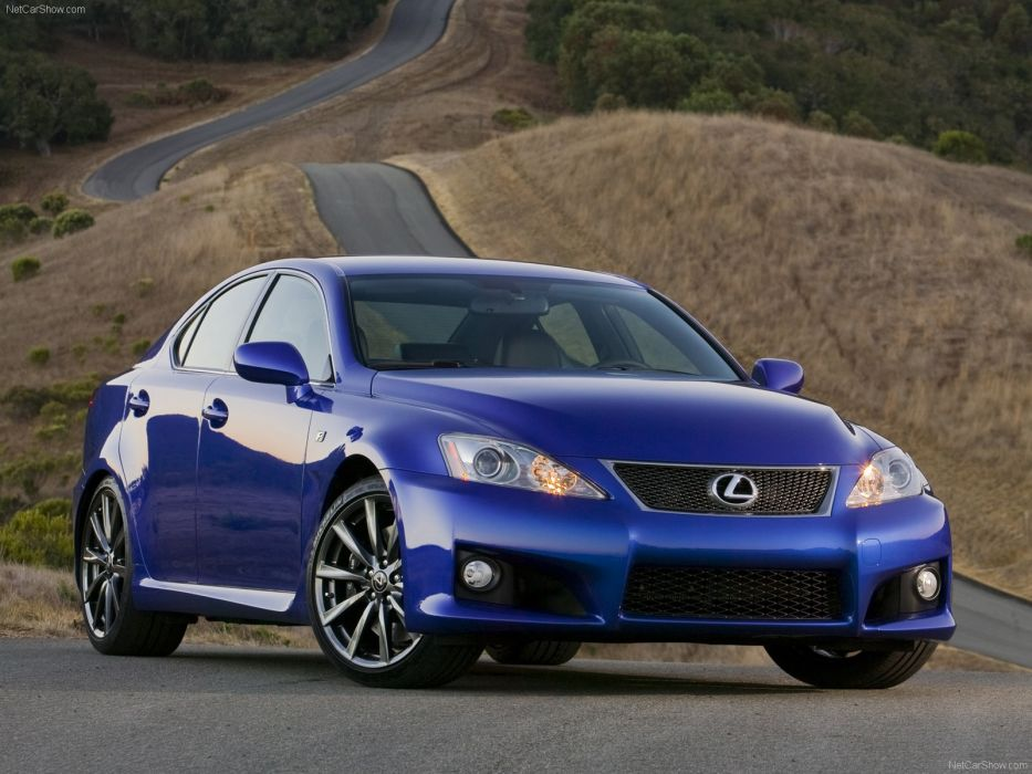 Lexus IS F 2008 wallpaper