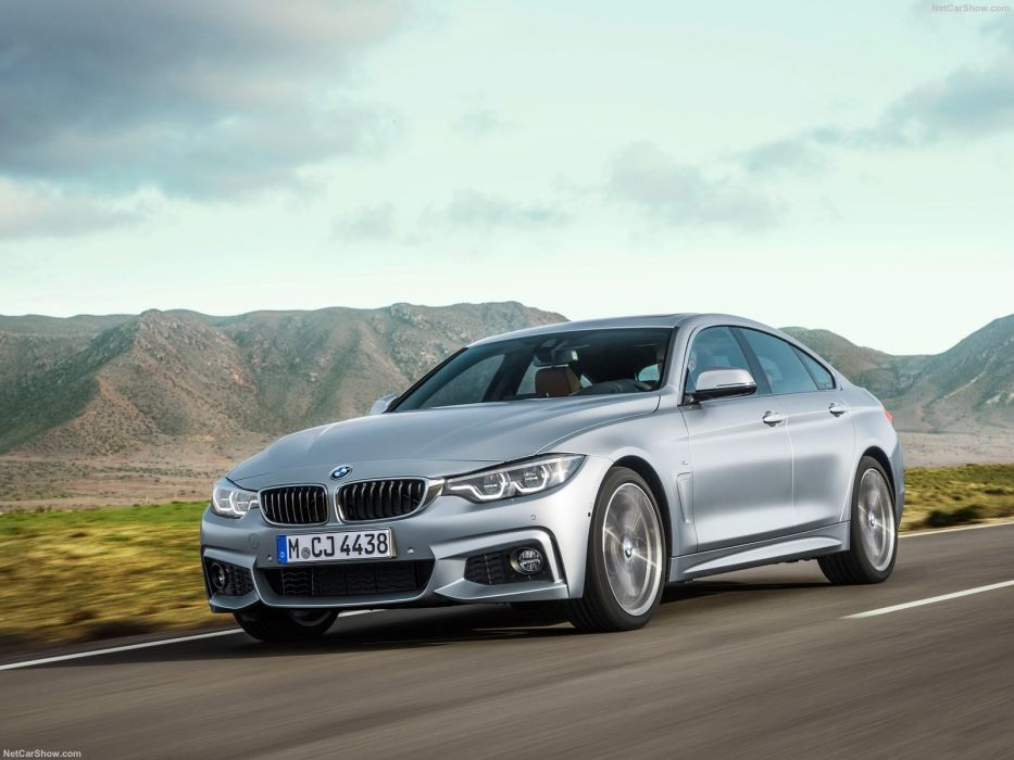BMW 4-Series cars Gran Coupe 440i cars 2017 wallpaper