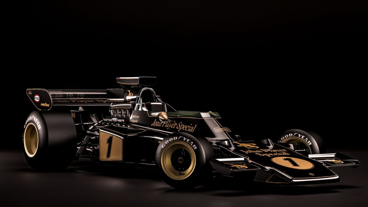 Lotus 72D Classic Formula One wallpaper
