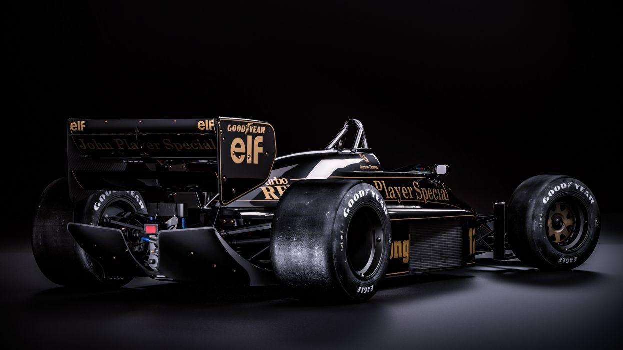 Lotus 98T Classic Formula One wallpaper