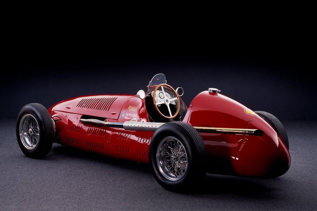 Maserati 4CLT Classic Formula One wallpaper