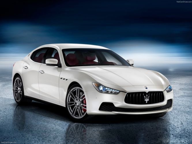 Maserati Ghibli S 2014 wallpaper