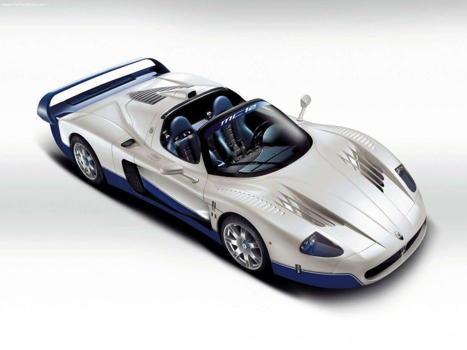 Maserati MC12  wallpaper