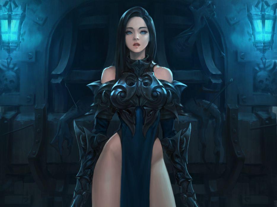 Women Warrior fantasy artistic wallpaper