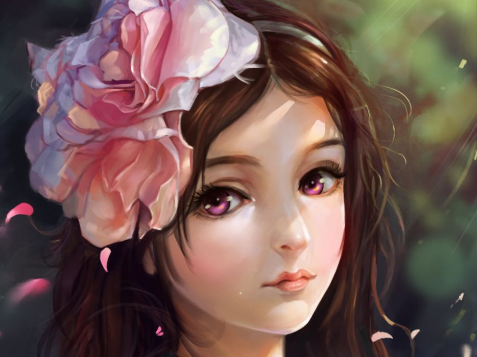fantasy original artistic woman girl women female wallpaper