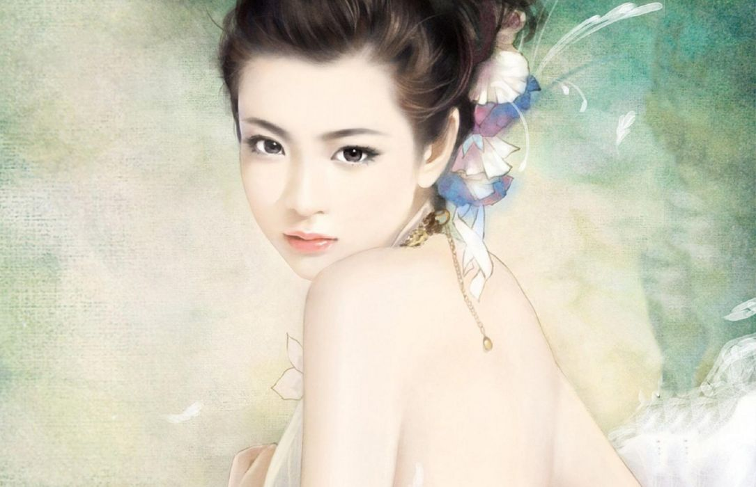 artistic fantasy female girl original woman women wallpaper