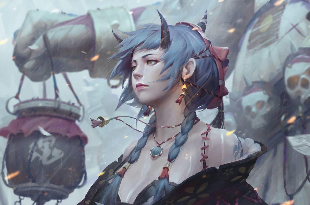 artistic fantasy female girl original woman women wallpaper