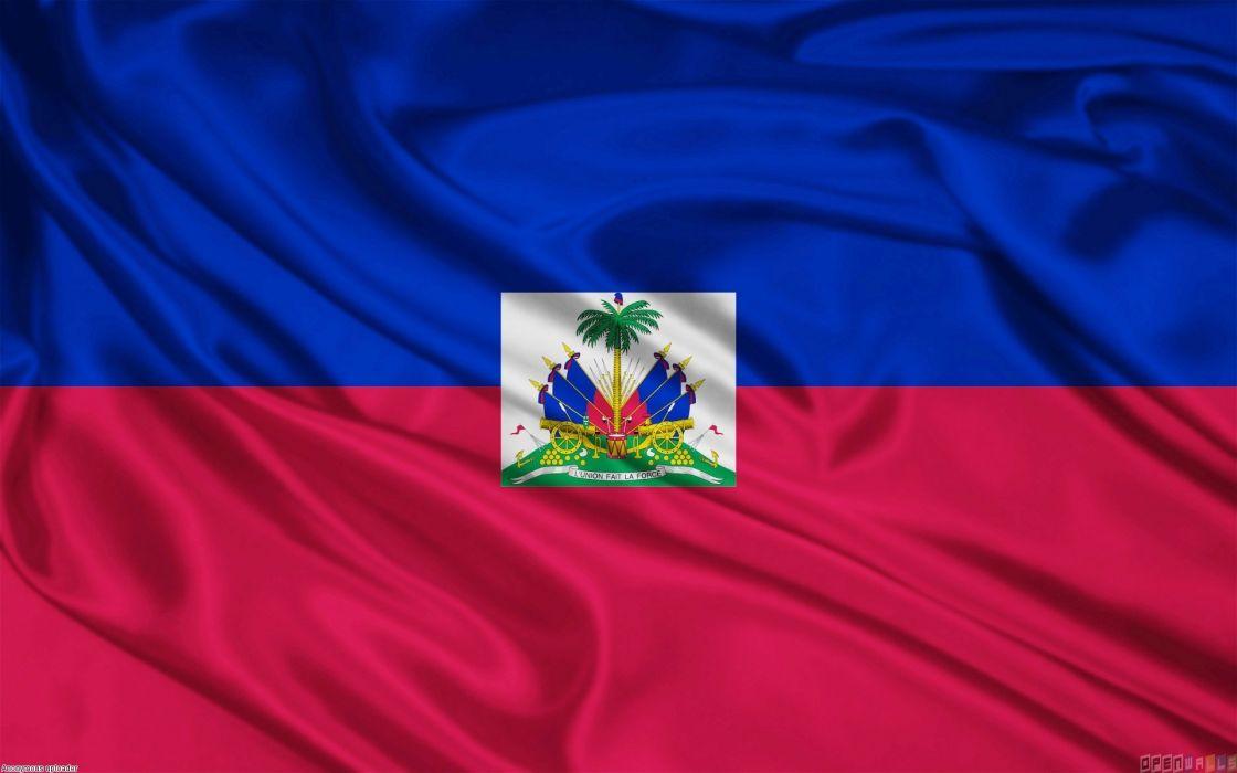 Bandera Haiti Centro America Wallpaper