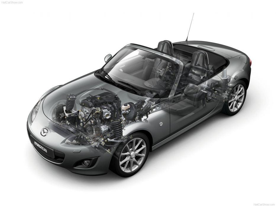 Mazda MX-5 2009 Cutaway wallpaper