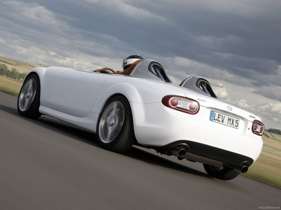 Mazda-MX-5 Superlight Concept 2009 wallpaper