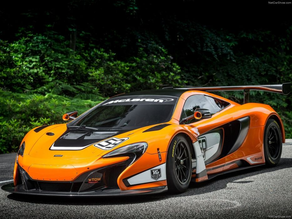 McLaren 650S GT3 Race Car wallpaper