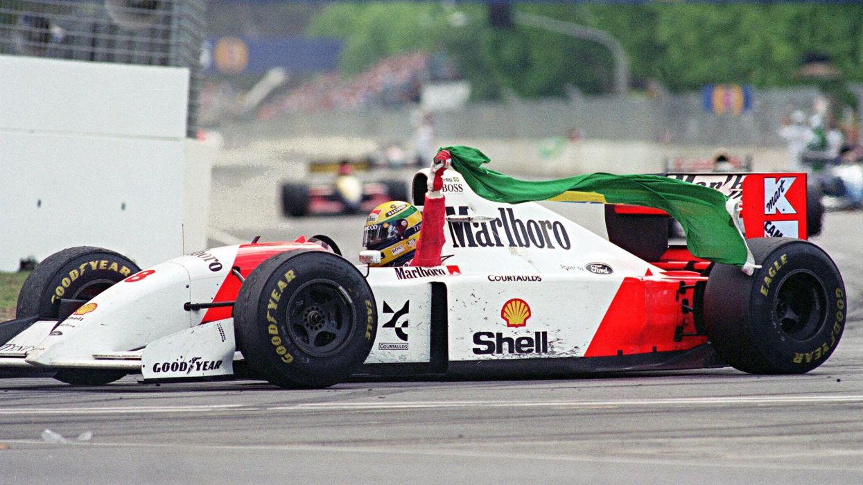 Mclaren MP4-7A Classic Formula One wallpaper