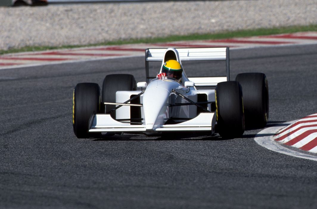 Mclaren-Lamborghini MP4-8B Prototype Classic Formula One wallpaper