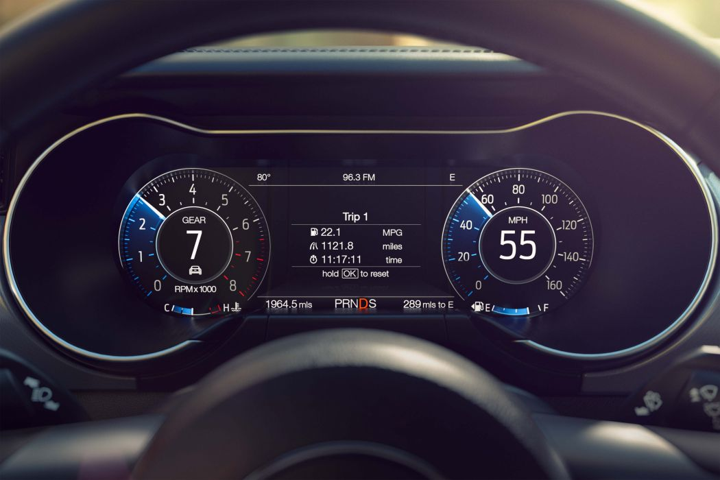 2018 Ford Mustang Instrument Cluster wallpaper