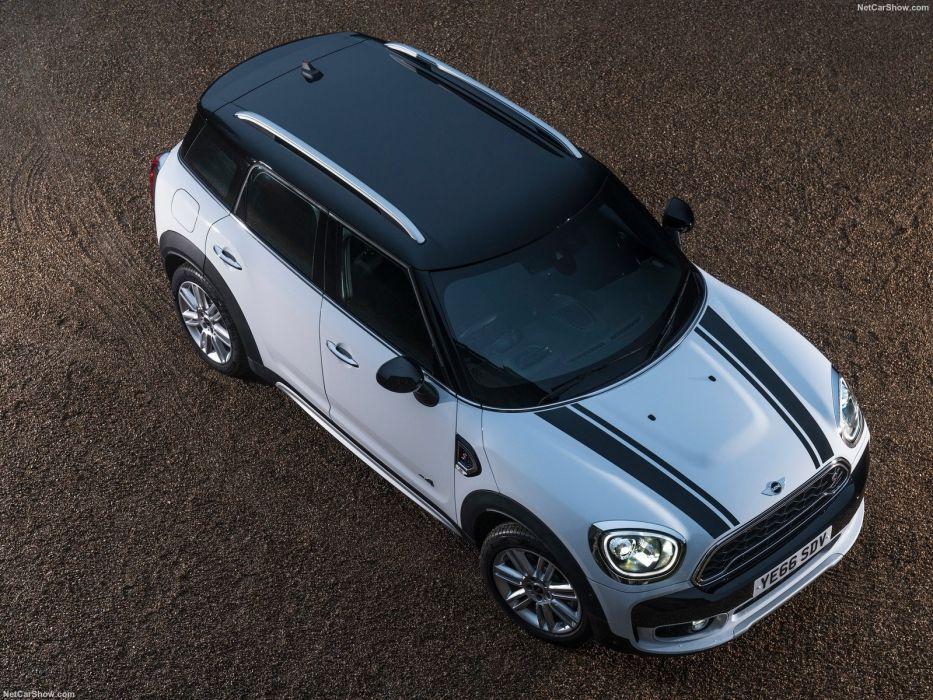 Mini » 2017 Countryman Cooper (S) ALL4 suv cars white wallpaper