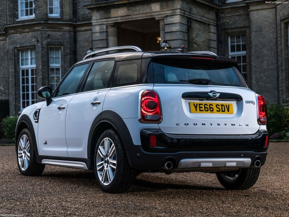 Mini » 2017 Countryman Cooper (S) ALL4 suv cars white wallpaper