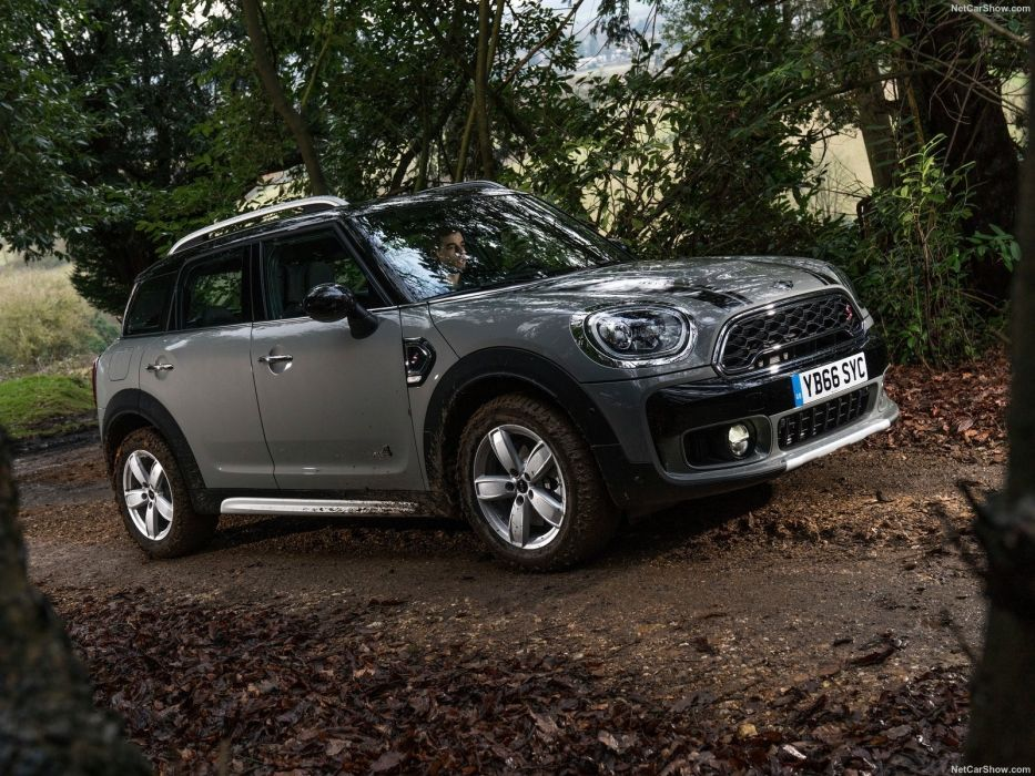 Mini 2017 Countryman Cooper (S) ALL4 suv cars grey wallpaper
