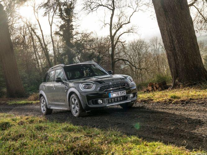 Mini 2017 Countryman Cooper (S) ALL4 suv cars grey wallpaper