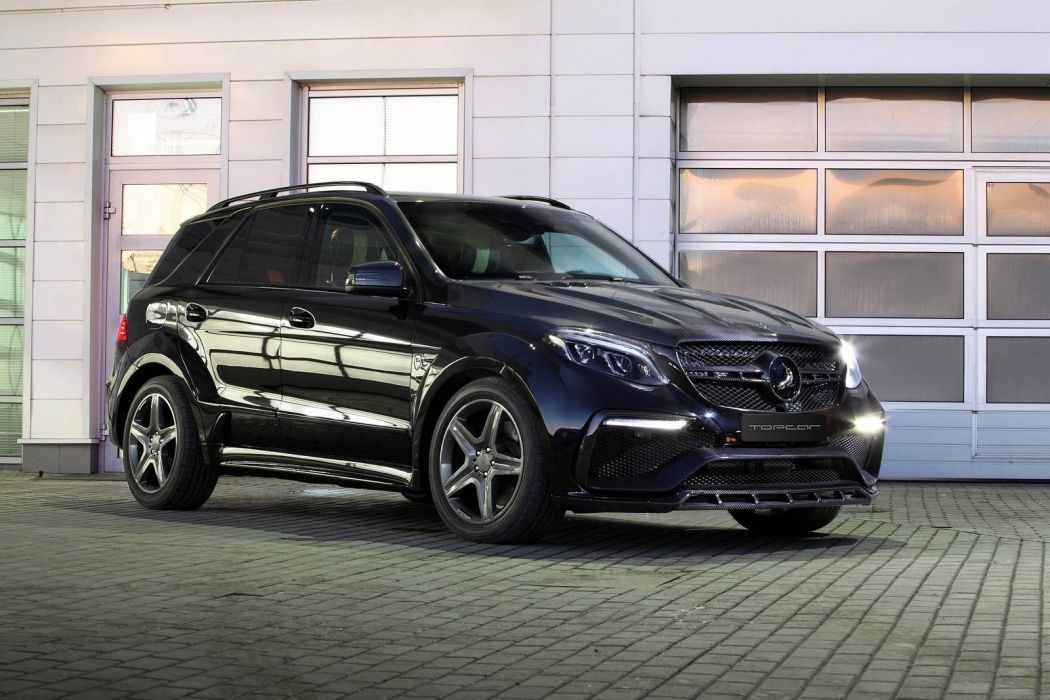 2017 TopCar Mercedes GLE Guard Inferno Package cars modified wallpaper