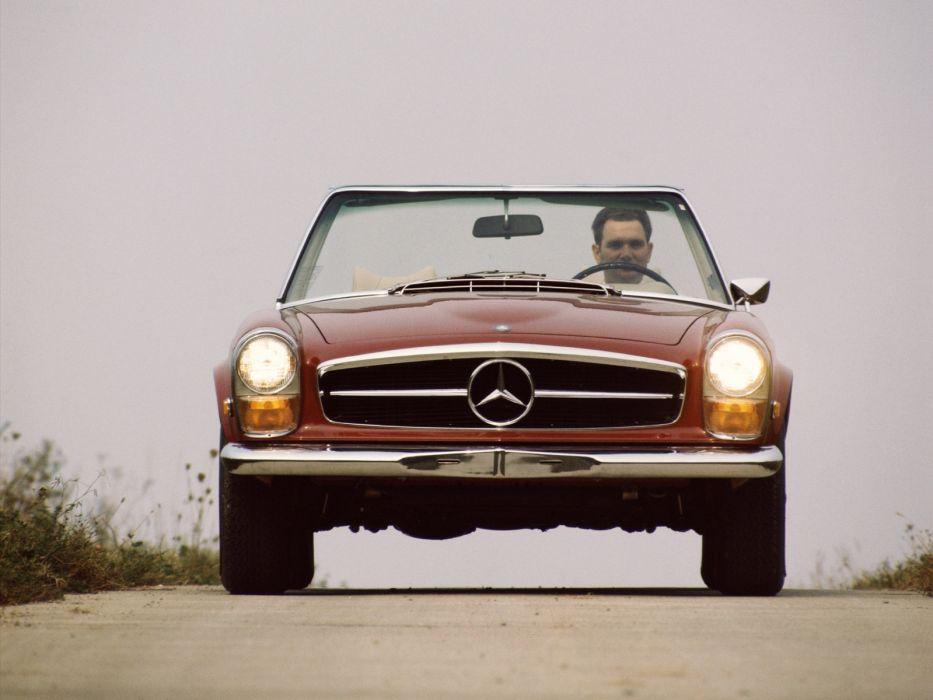 Mercedes-Benz 230 SL Roadster 1963  wallpaper