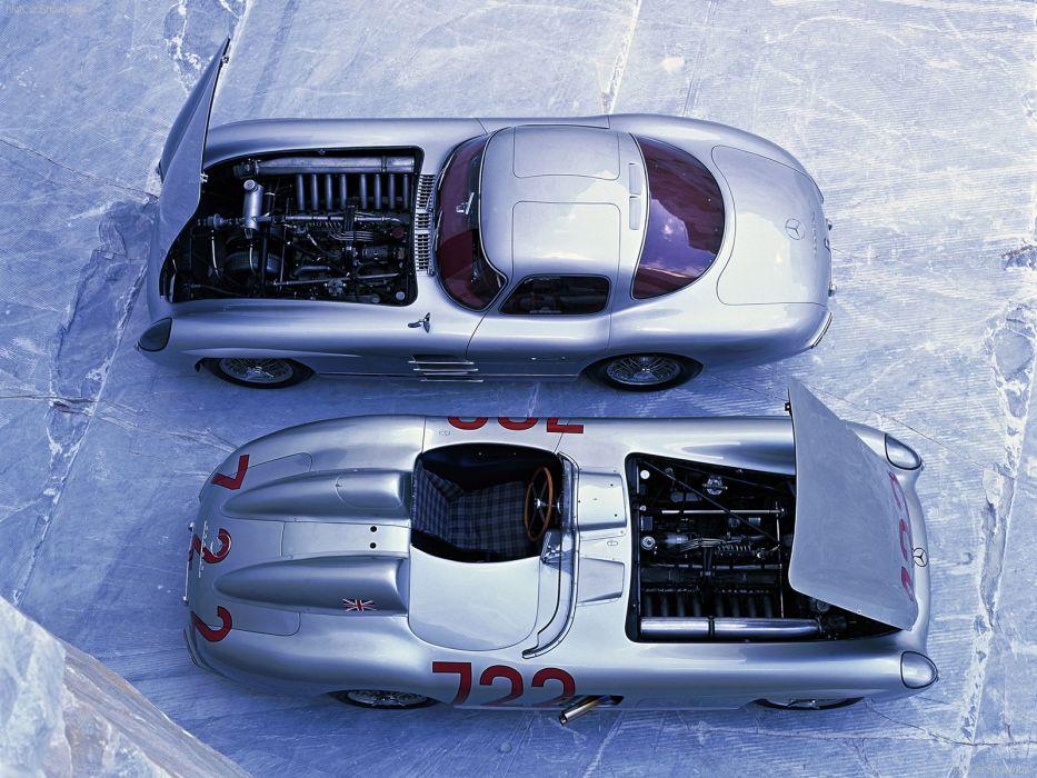 Mercedes-Benz 300 SLR Mille Miglia wallpaper