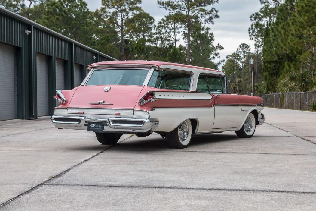 1957 MERCURY VOYAGER cars wagon classic wallpaper