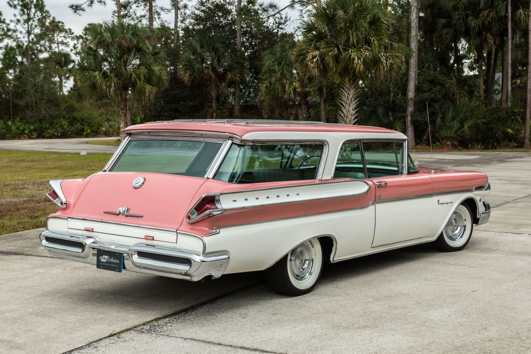 1957 MERCURY VOYAGER cars wagon classic wallpaper
