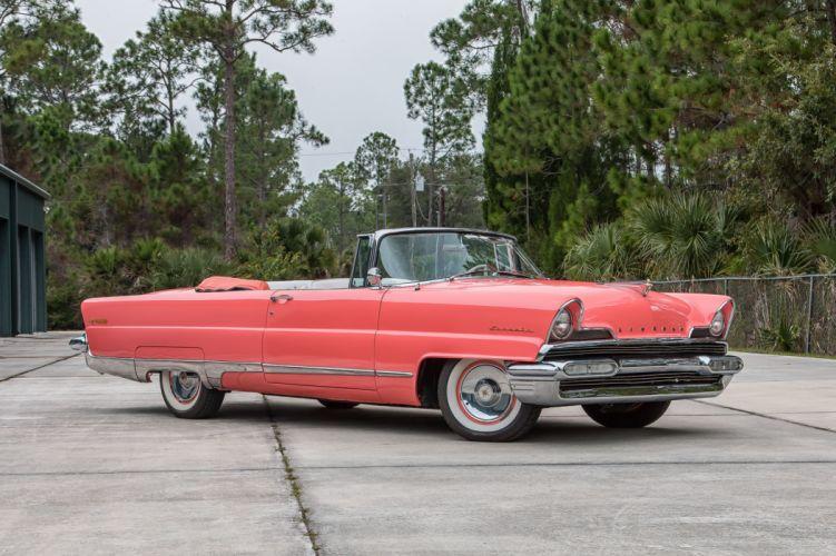 1956 LINCOLN PREMIERE cars convertible classic wallpaper