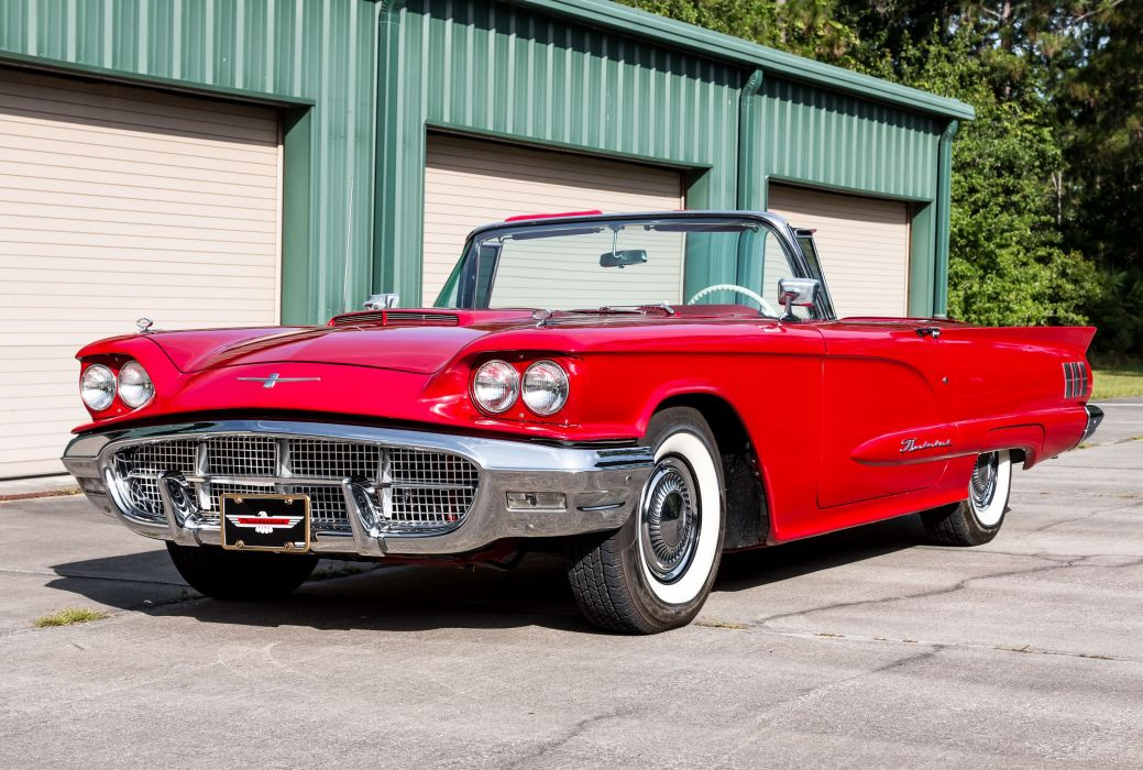 1960 FORD THUNDERBIRD cars classic wallpaper