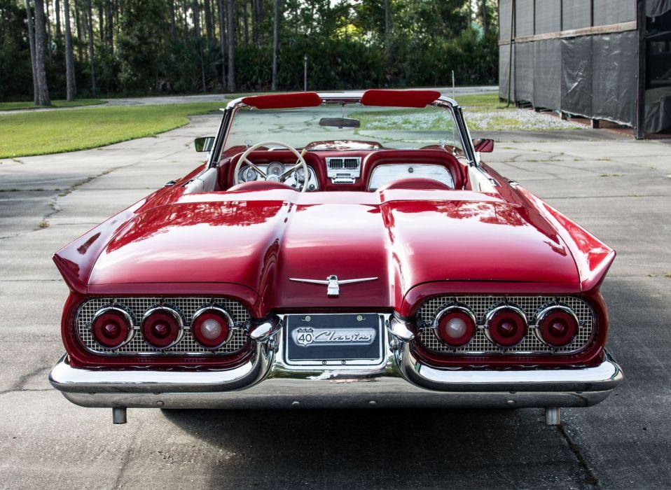 1960 FORD THUNDERBIRD cars classic wallpaper