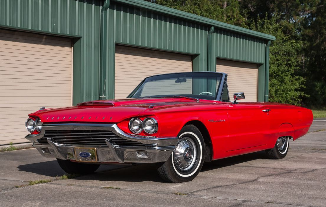 1964 FORD THUNDERBIRD cars classic wallpaper