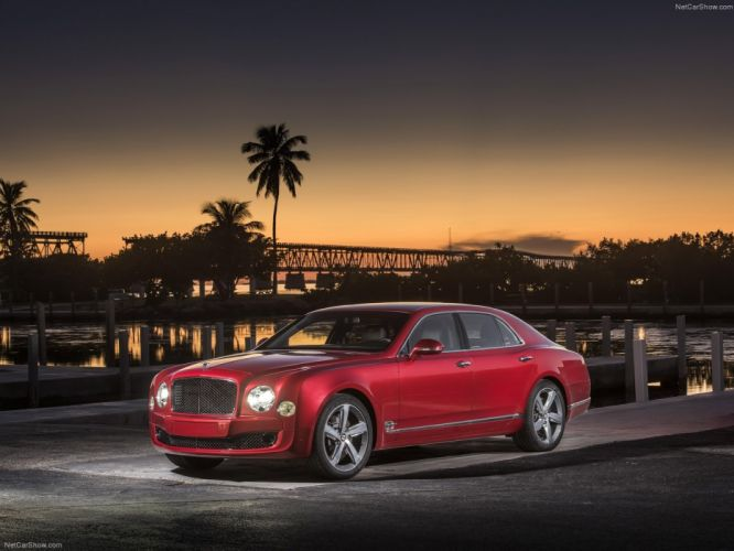 Bentley Mulsanne Speed 2015 wallpaper