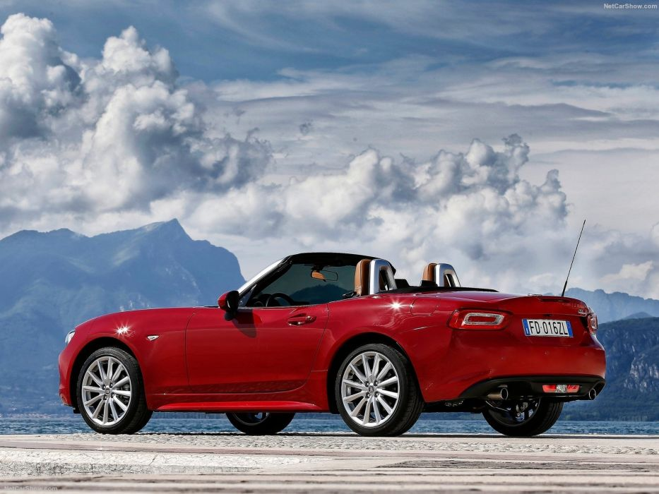 Fiat 124 Spider 2017  wallpaper