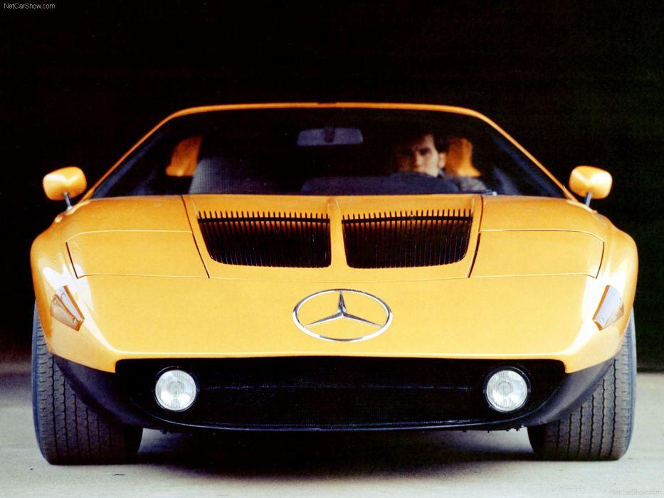 Mercedes-Benz C 111 II Concept 1970  wallpaper