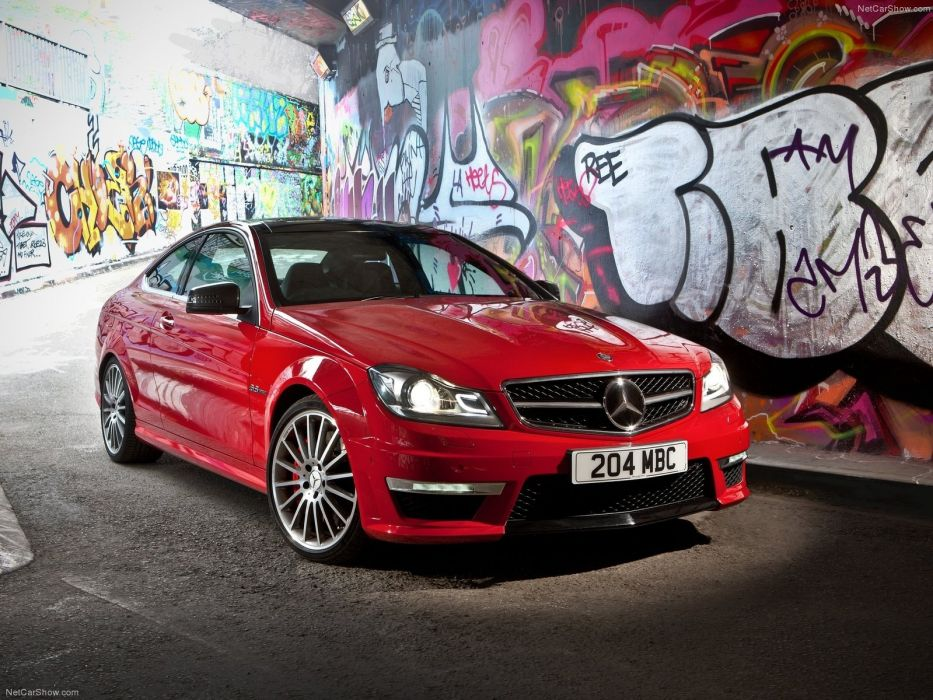 Mercedes-Benz C63 AMG Coupe W204 wallpaper