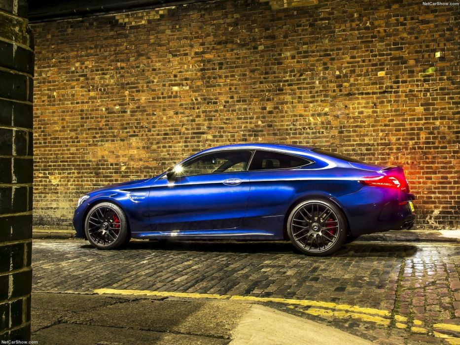 Mercedes-Benz C63 AMG Coupe 2015 W205 wallpaper