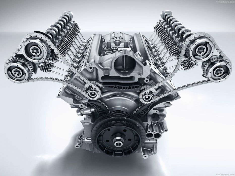 Mercedes-Benz C63 AMG Coupe 2015 W205 Engine wallpaper