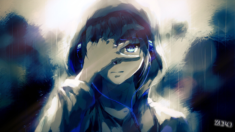 Anime Boy Headphones Wallpaper 3000x1687 1075793 Wallpaperup
