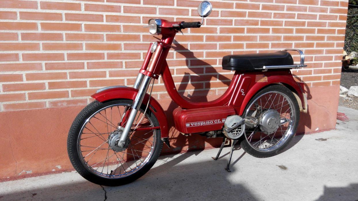 vespino moto roja wallpaper