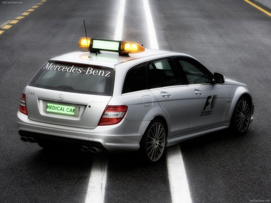 Mercedes-Benz C63 AMG Estate F1 Medical Car wallpaper