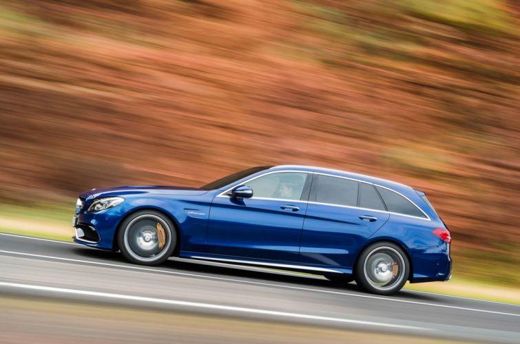 Mercedes-Benz C63 AMG Estate wallpaper