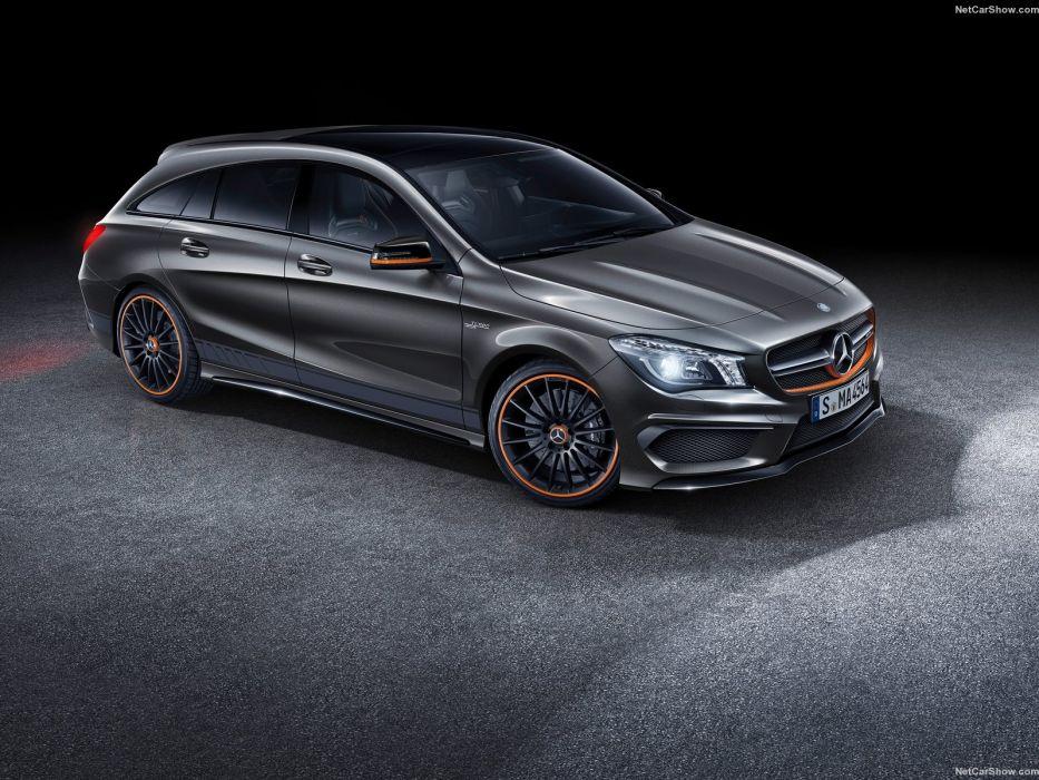 Mercedes-Benz CLA45 AMG Shooting Brake 2016 wallpaper