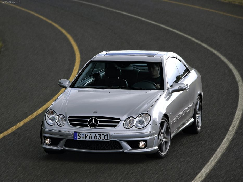 Mercedes-Benz CLK 63 AMG 2006 W209 wallpaper
