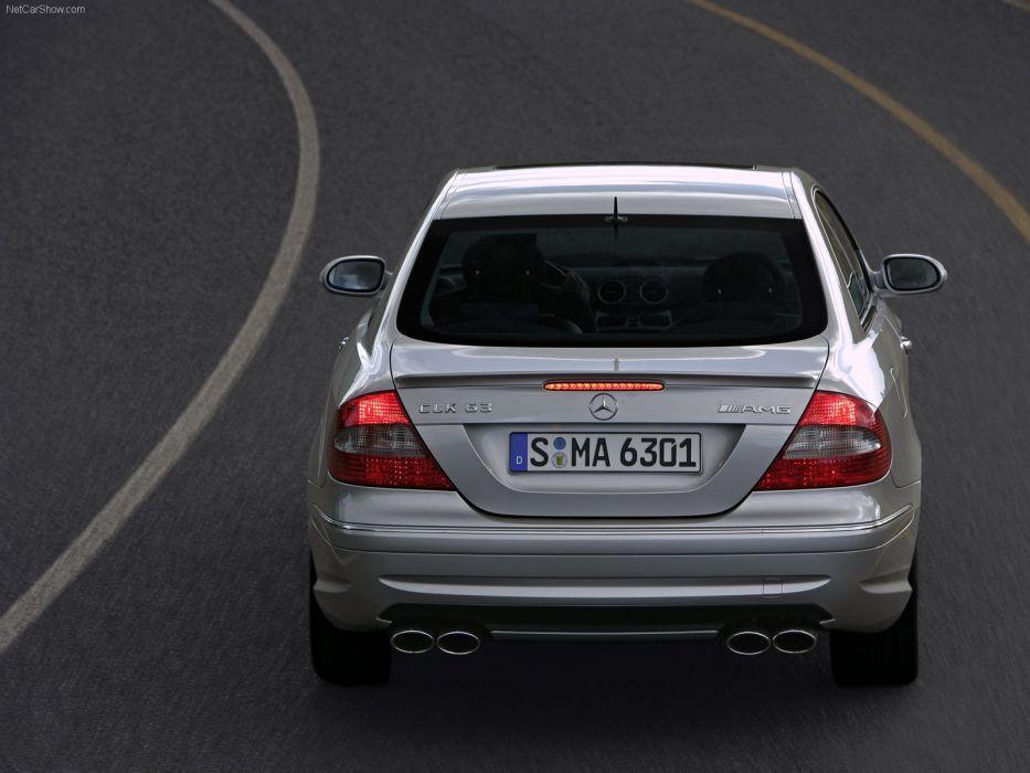 Mercedes-Benz CLK 63 AMG 2006 W209 wallpaper