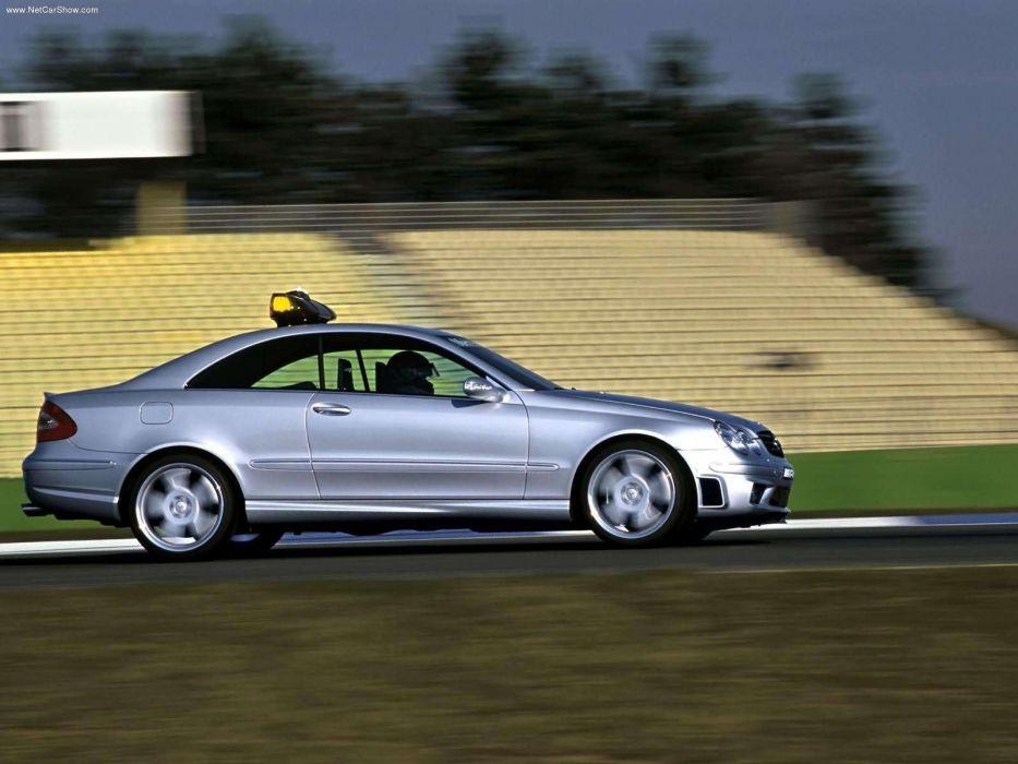 Mercedes-Benz CLK55 AMG F1 Safety Car wallpaper